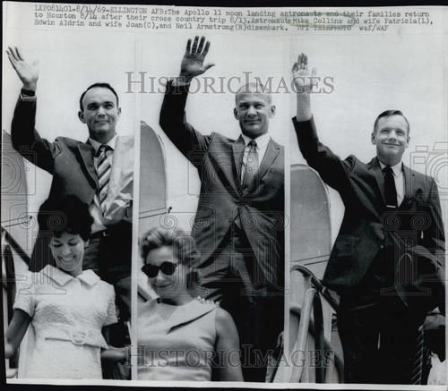 Michael Collins, Buzz Aldrin, and Neil Armstrong - Apollo 11