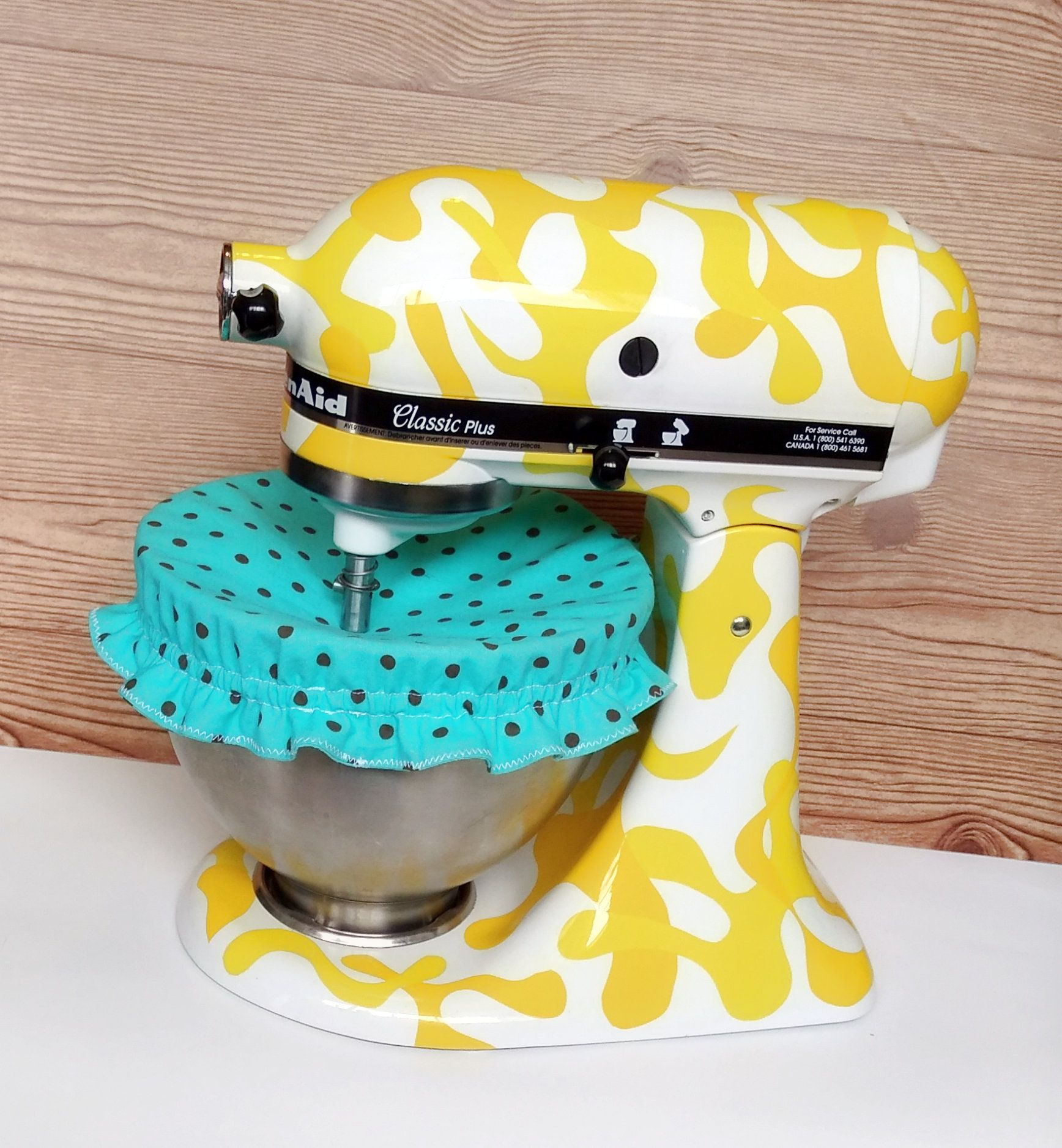 How do you guys like this teal kitchenaid mixer bowl cover