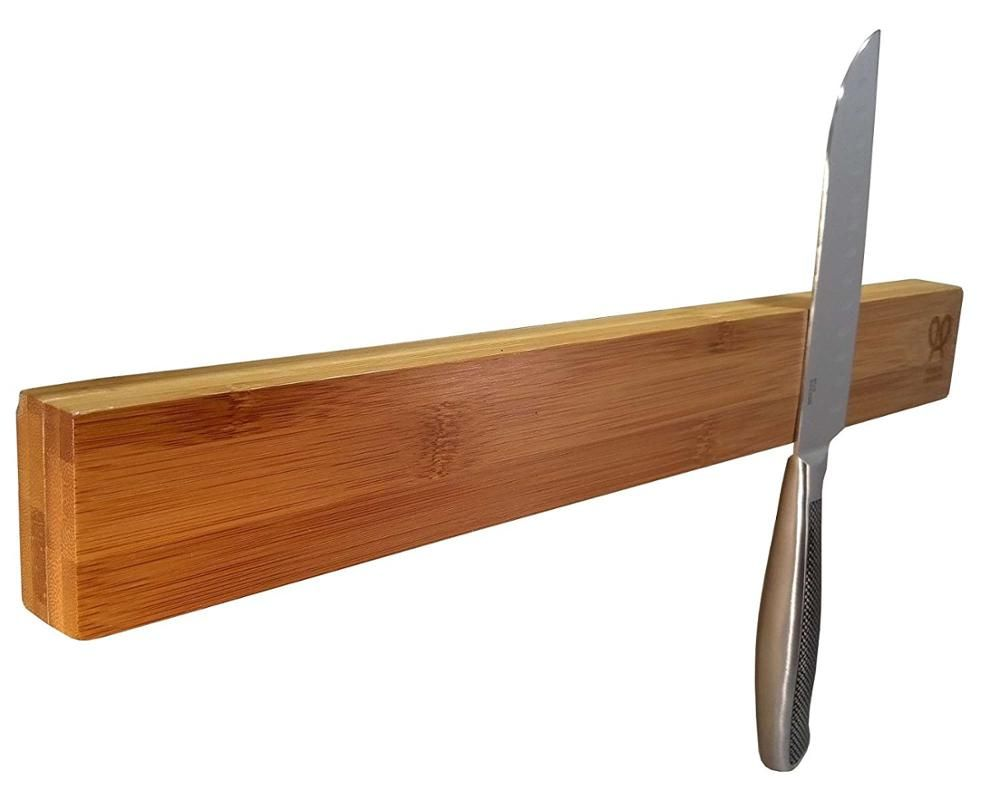 Best Modern Design Kitchen Knife Block Set Bamboo Magnet View 640 x 480