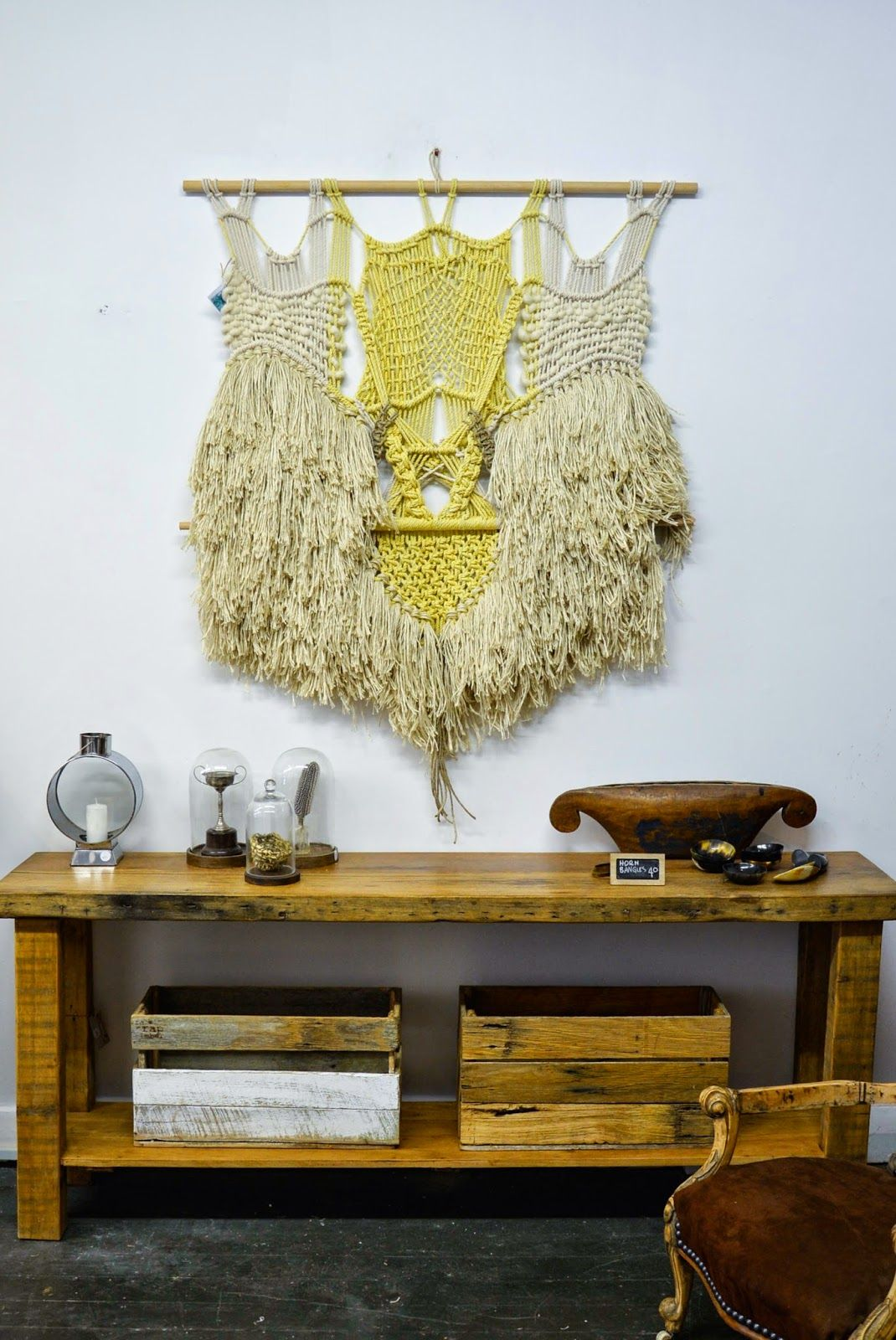 Wall-hangings & tapestry: The taste of Petrol and Porcelain ...