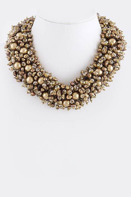 Chloe. #fab #clusternecklace #store #work
