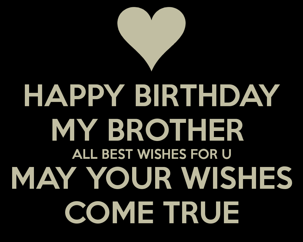 30 Happy Birthday Wishes For Brother On Facebook Whatsapp