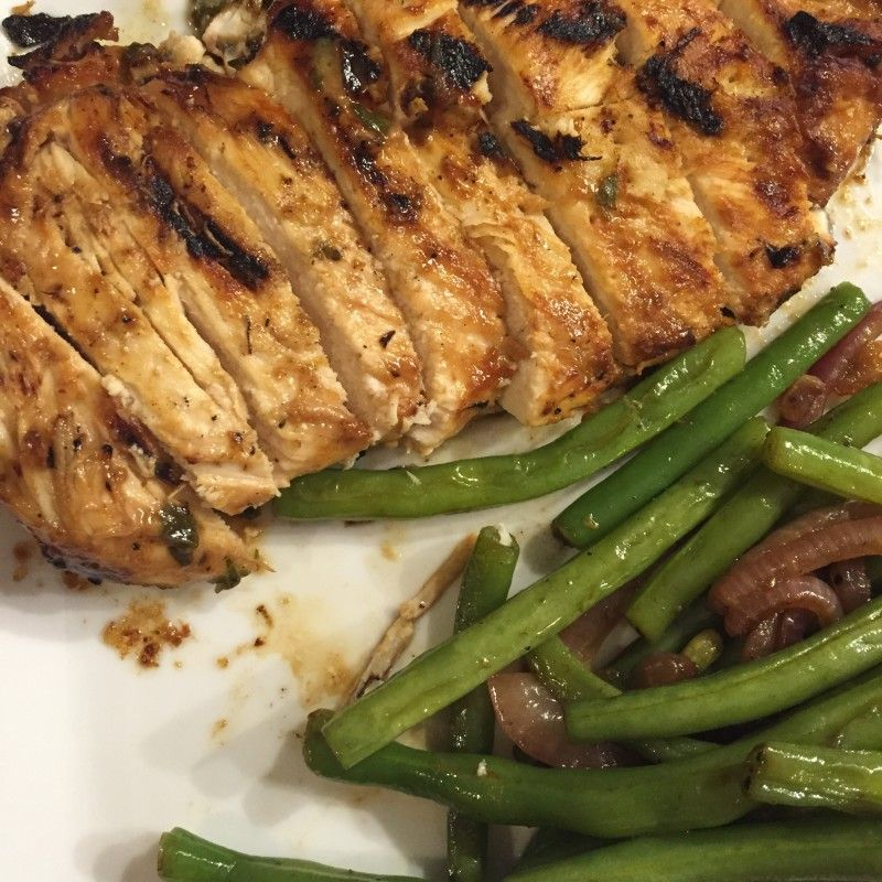 Grilled Herb Dijon Chicken!  Must Try!!!! its fabulous every time :-)