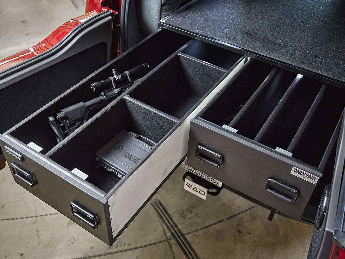 Have The Rad Rides Team Install A Gun Safe In Your Vehicle This