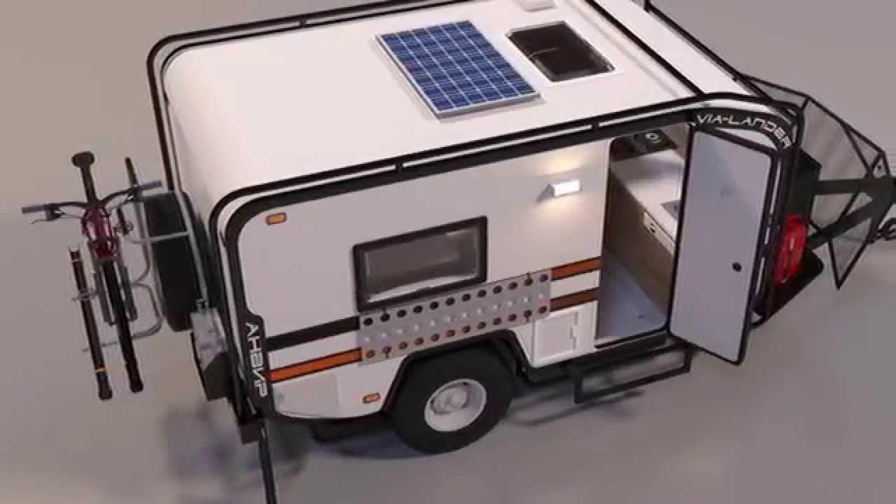 Mini off road camper camping pinterest mini casa for Casa rodante para parrilla