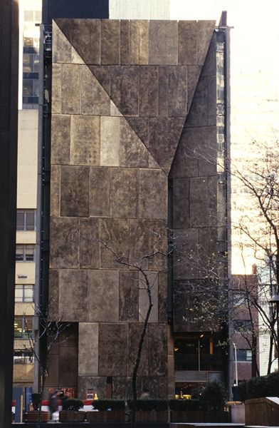 American folk art museum tod williams billie tsien for Traditional american architecture