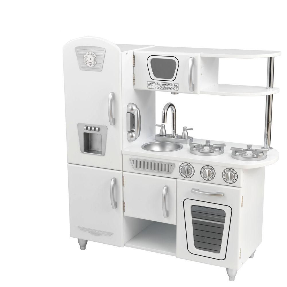 KidKraft White Vintage Kitchen Playset | Vintage kitchen, Kitchens ...