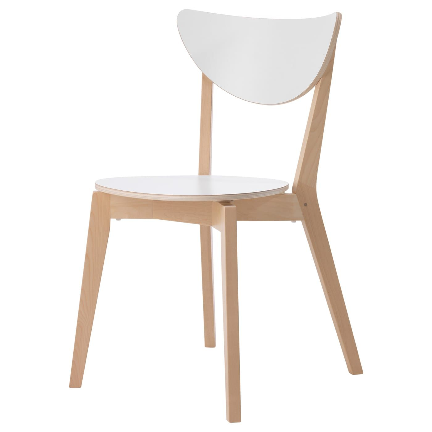Nordmyra Scaun Alb Mesteacăn Ikea En 2020 Chaise Salle A Manger Chaise Design Ikea