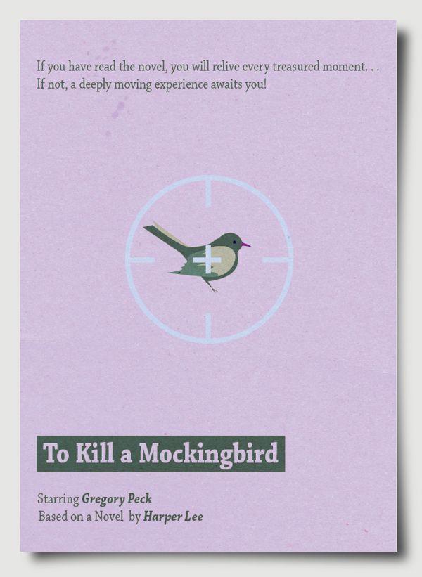 Minimal Movie Poster Project: To Kill a Mocking Bird | To Kill a