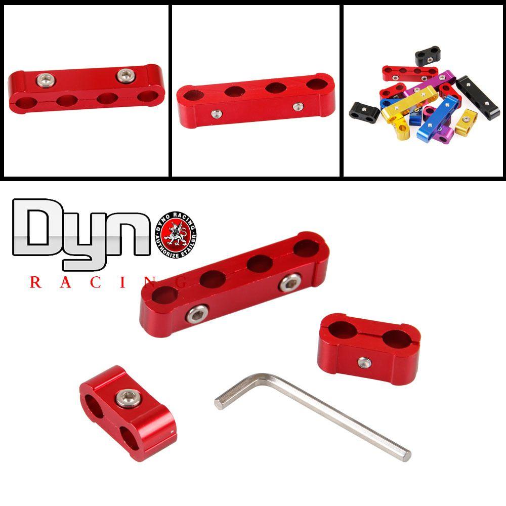 dyno racing - 3pcs Engine Spark Plug Wires Separator Divider Clamp ...