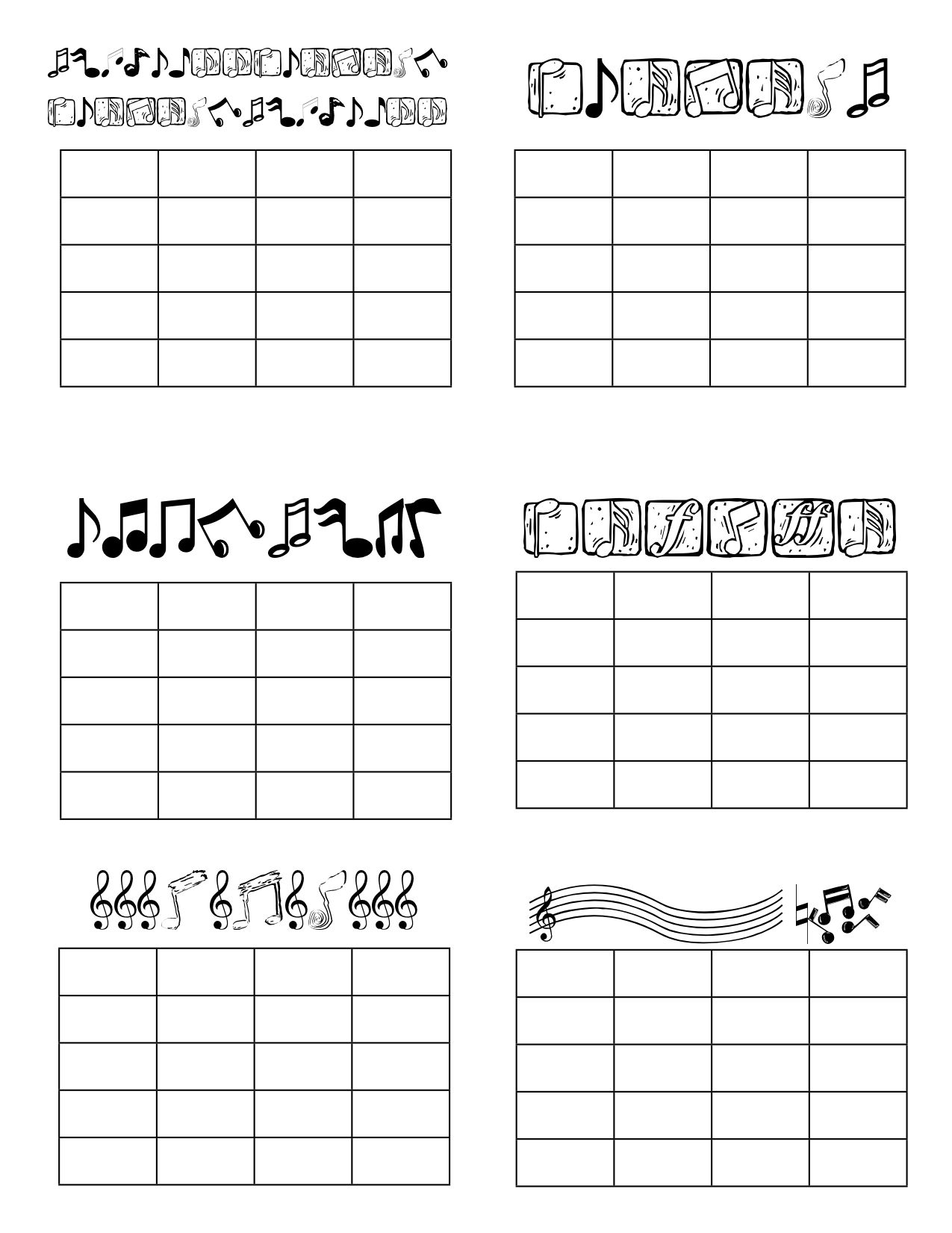 Fun Violin Practice Ideas Music Practice Charts Are