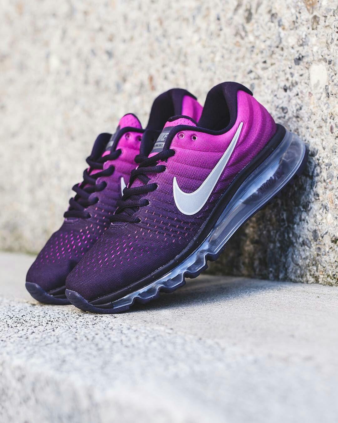 nike run air max 2017 purple