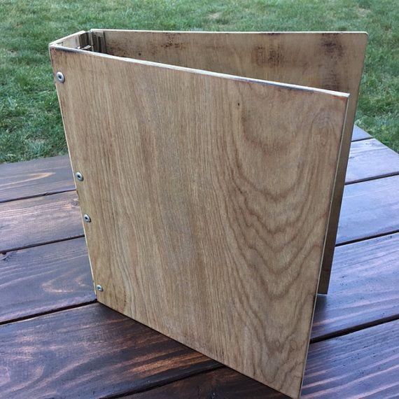 Wooden 3-ring Binder By TSDesignsShop On Etsy