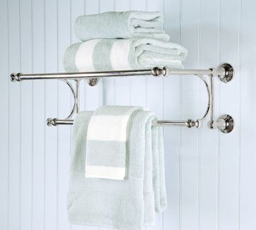 Traditional Towel Bars And Hooks By Pottery Barn For Upstairs Hall