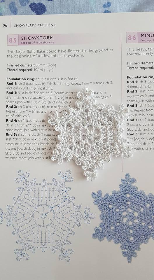Pin de regina ladra en crochet patterns | Pinterest | Nieve, Navidad ...