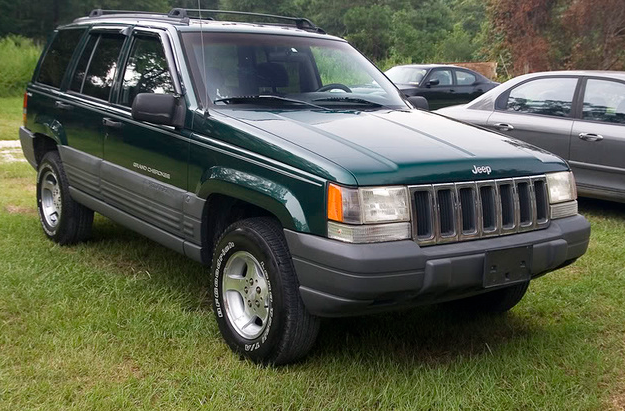 1998 Jeep Grand Cherokee Owners Manual The Grand Cherokee Comes