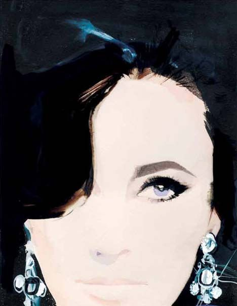 Elizabeth Taylor. David Downton.