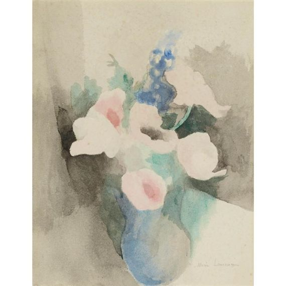 Marie Laurencin Vase De Fleurs Art Moderne Figuratif Artwork