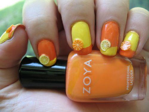 2013 summer nail designs nails pinterest orange nail art 2013 summer nail designs prinsesfo Image collections