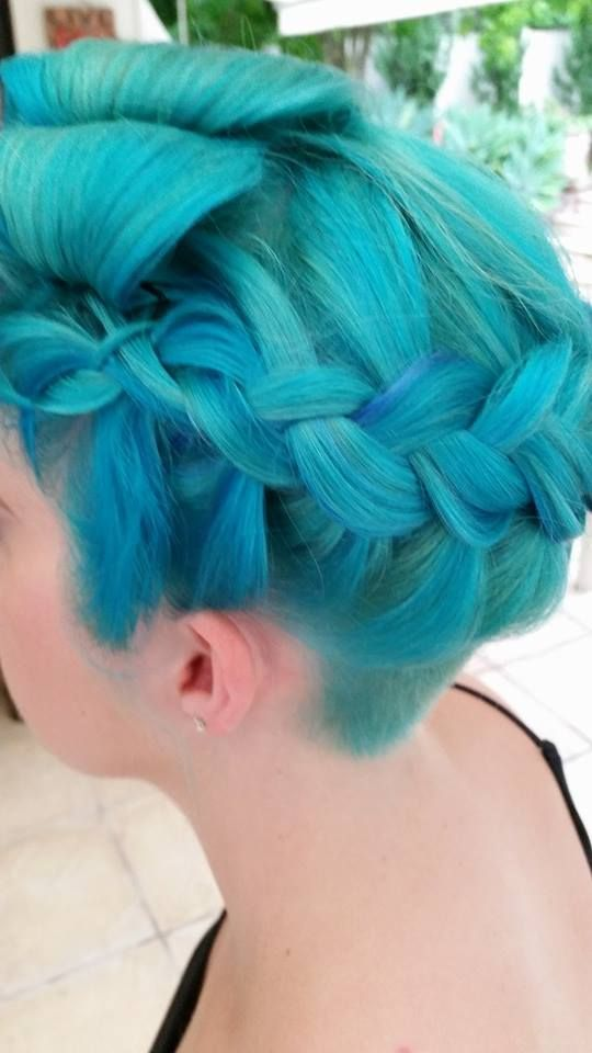 Shades Of Teal Teal Hair Hair Coloring And Teal Hair Color