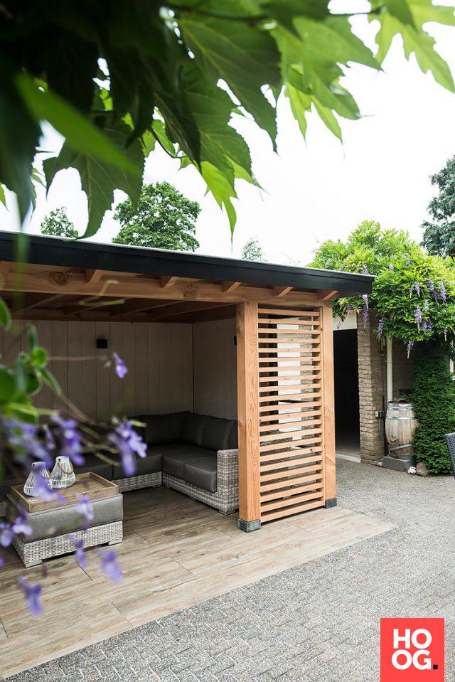 Photo of Buitenpracht Houtbouw – Landshus med vedovn og keramiske fliser