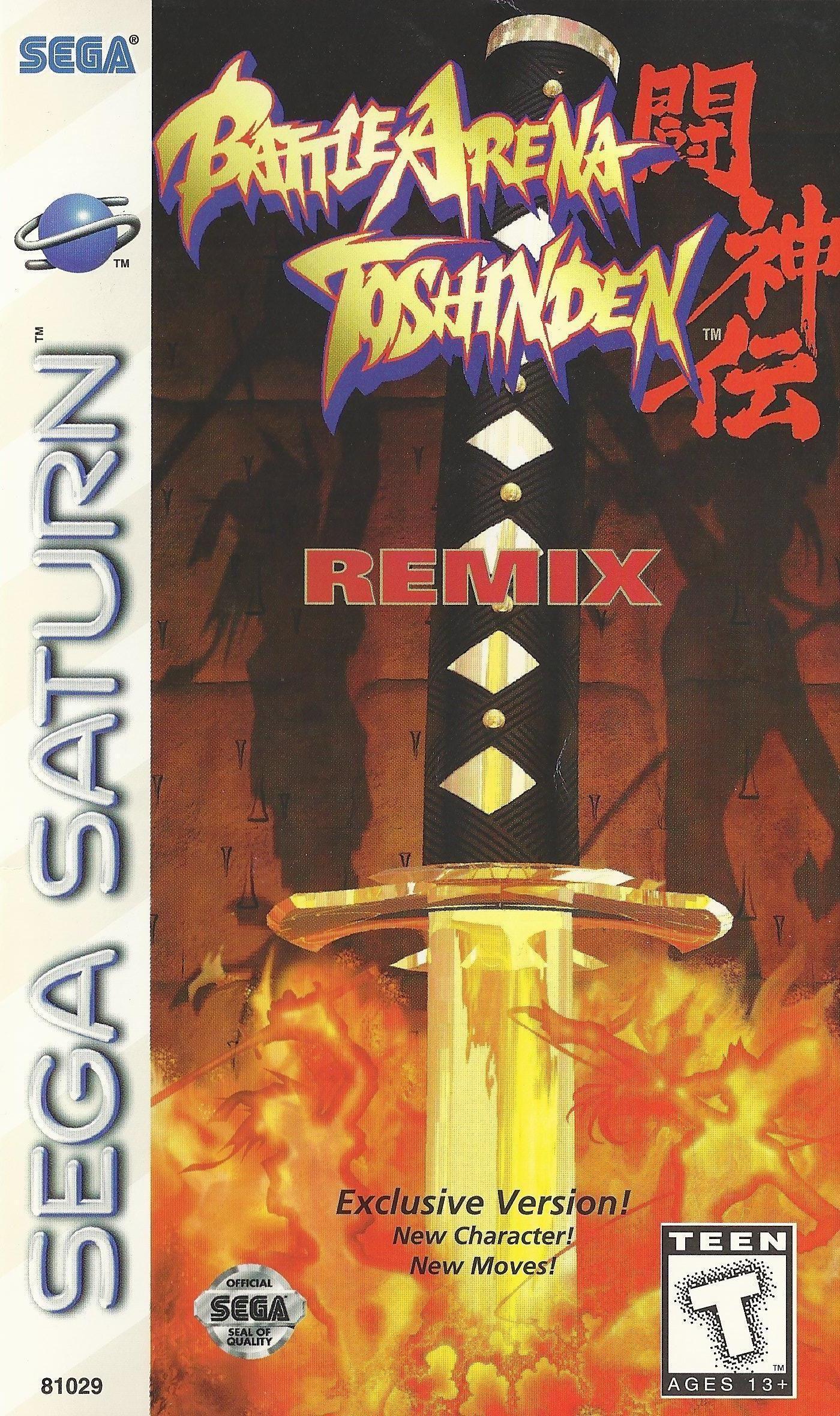 Battle Arena Toshinden Remix Sega Saturn Roms Free Download
