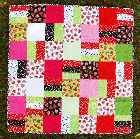 free watermelon quilt pattern / ann kelle | Designer Spotlight ... : watermelon quilt pattern - Adamdwight.com