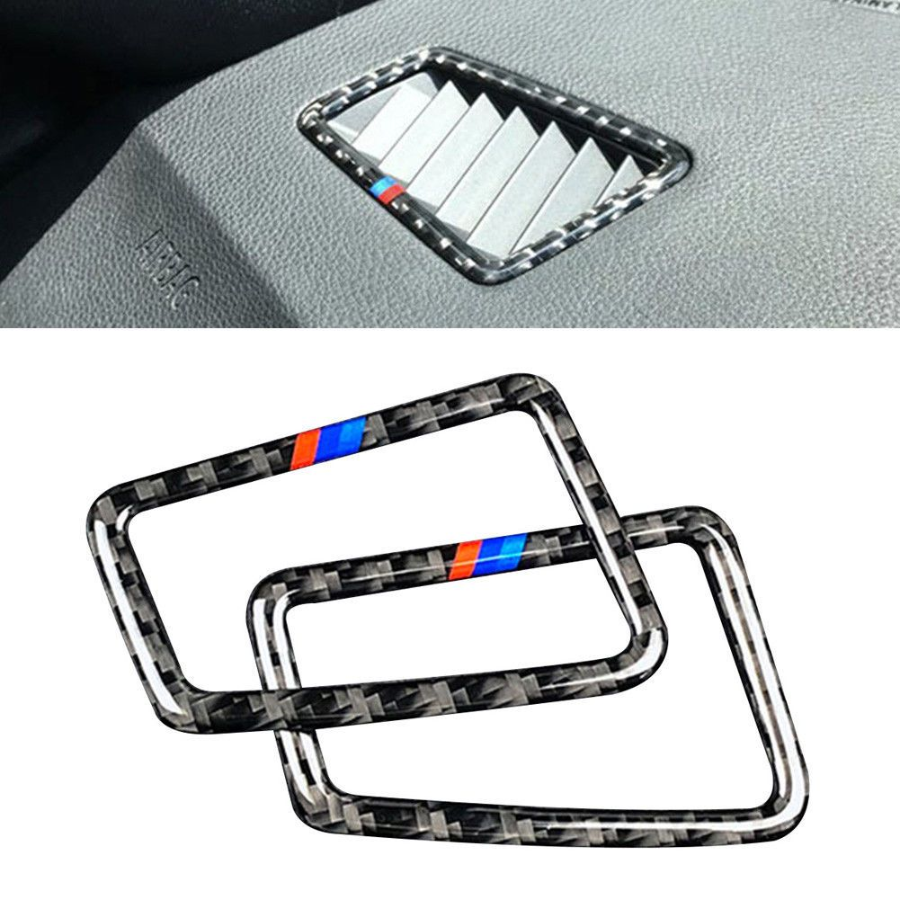 2pcs Air Conditioning Vent Outlet Cover Trim for BMW 3