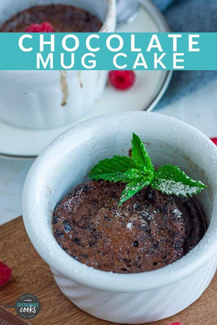 This Gluten-Free Mug Cake is rich and chocolatey without ...