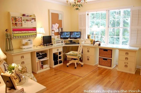 Great craft room! home-decor