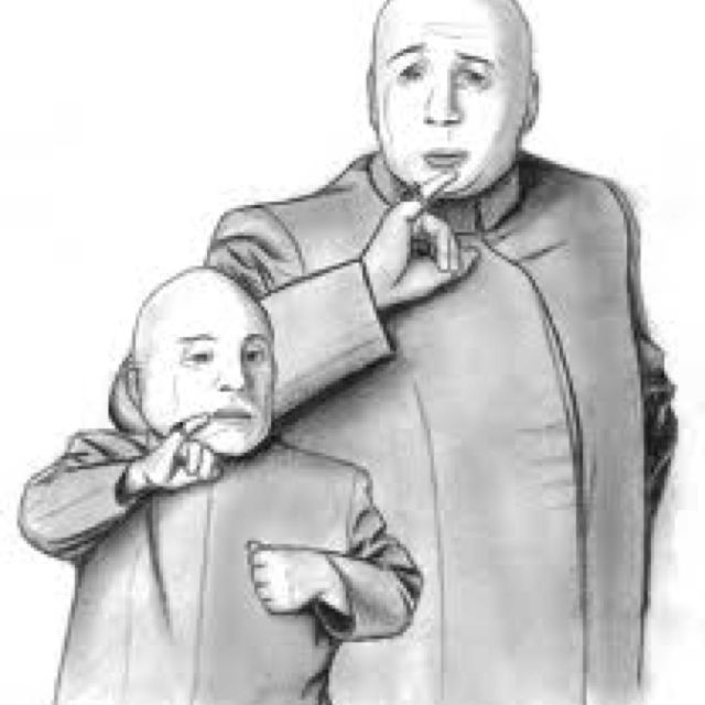 Dr Evil And Mini Me Famous Duos Dr Evil Mini Me