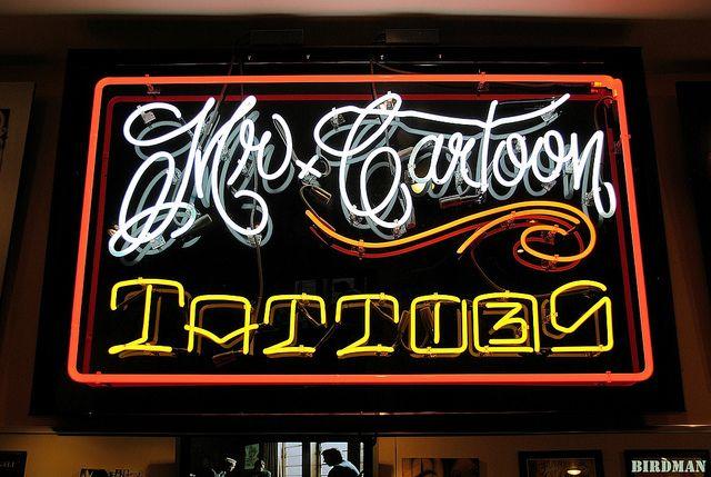 Mister Cartoon Tattoos Mr Cartoon Tattoo Cartoon Tattoos Cartoon