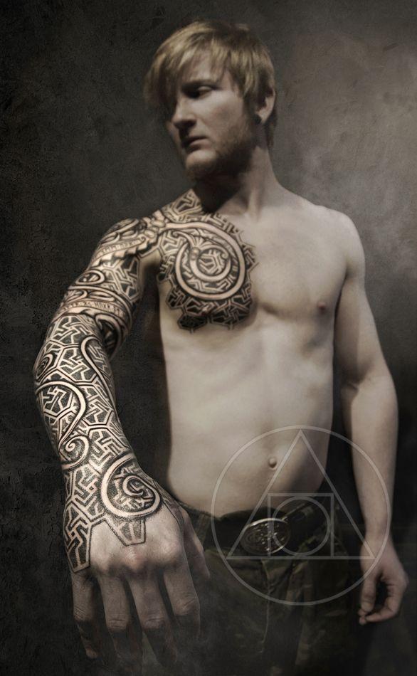 urnes armor tattoo blackhand nomad peter madsen. Black Bedroom Furniture Sets. Home Design Ideas