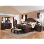 ART Furniture - Intrigue 6 Piece Bedroom Queen Low Profile Panel Bed Set - 161135-2636-SET
