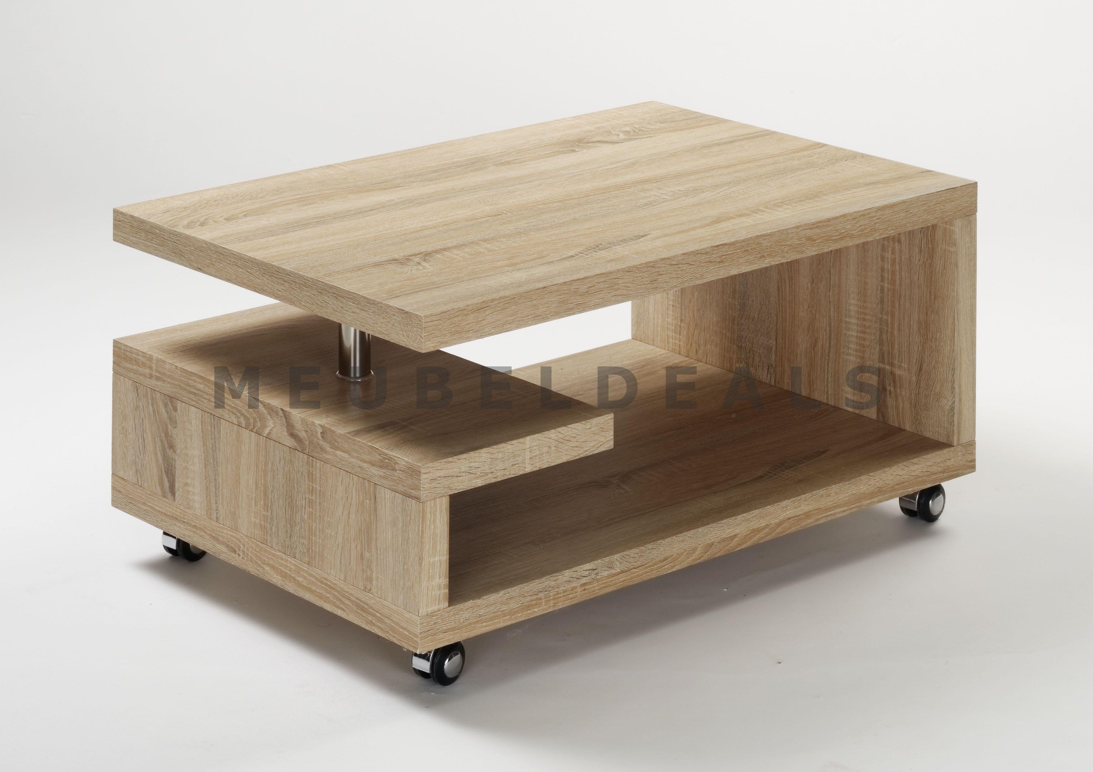 Tv tafel op wielen salontafel met meubeldeals home pinterest