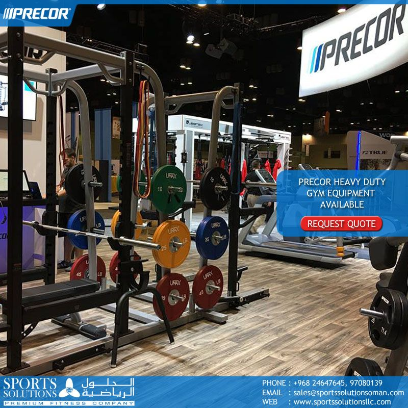 Precor Heavy Duty Gym Equipment availalbe. Contact