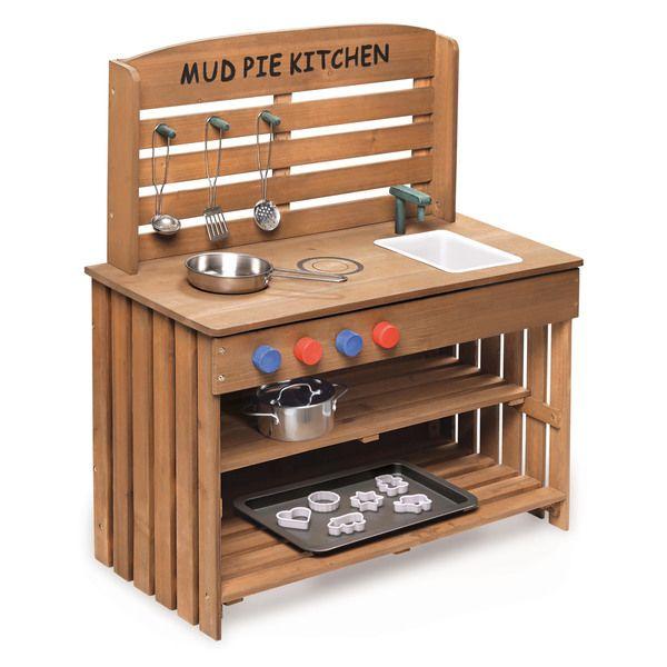 Outdoor Chef Mud Pie Kitchen with Cooking Accessories