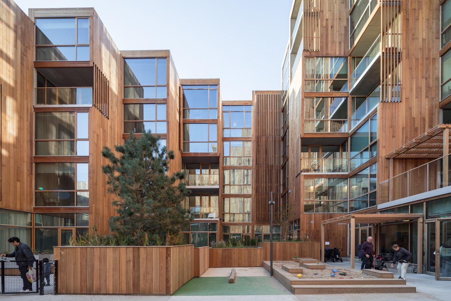 Gallery Of 79 Park Big 4 Apartment Architecture Architecture Architecture Building