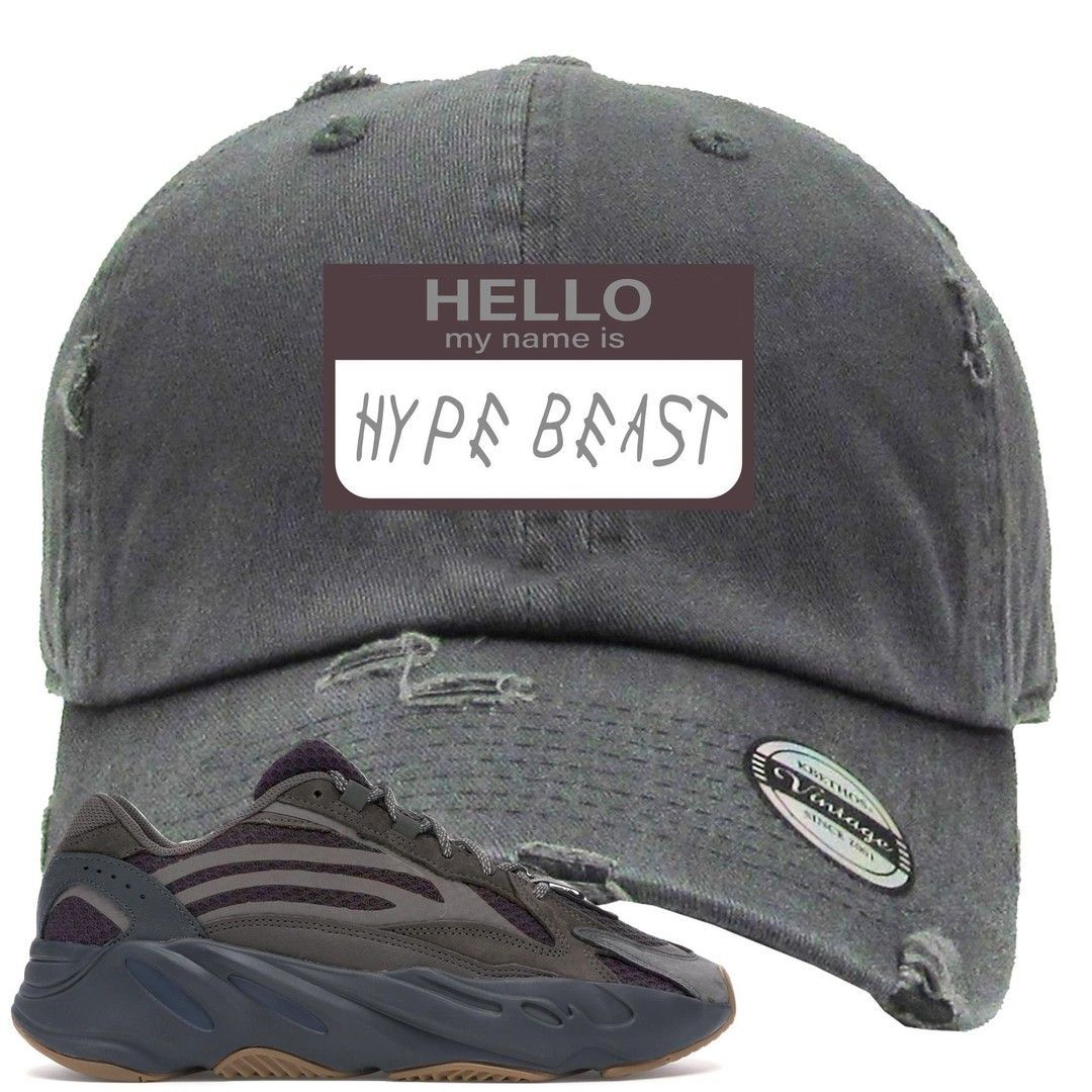 best service f712d 87ef6 Complete your sneaker matching outfit in style while rocking this Hello My  Name Is Hype Beast