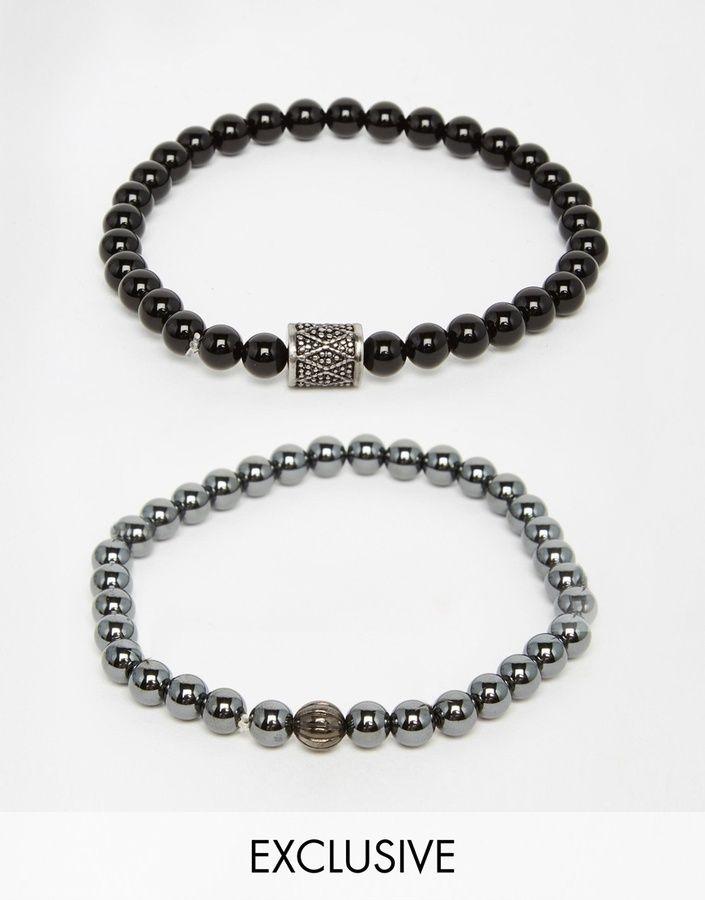 Schwarze Ringe, Herren Mode, Uhren, Kette, Verzieren, Schmuck, Ring Armband 8d2afb678b