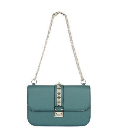 Valentino Medium Grain Rockstud Lock Bag Available To At Harrods Handbags Online And