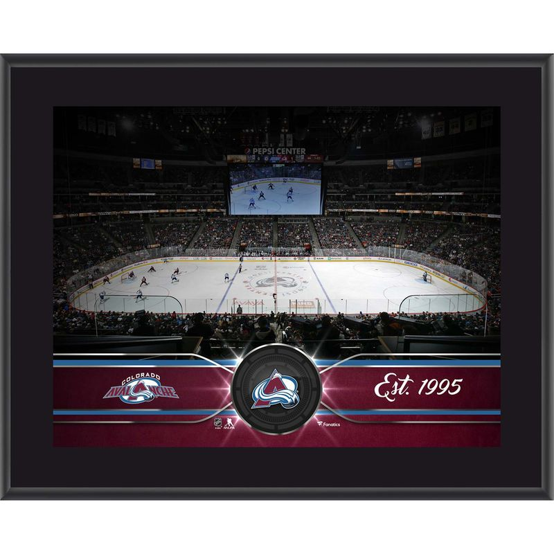 "Colorado Avalanche Fanatics Authentic 10.5"" x 13"" Sublimated Team Plaque"