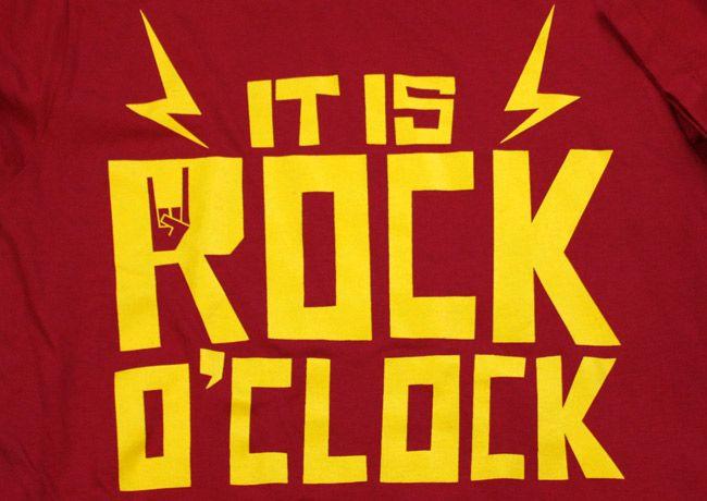 TopatoCo: Rock O' Clock Shirt
