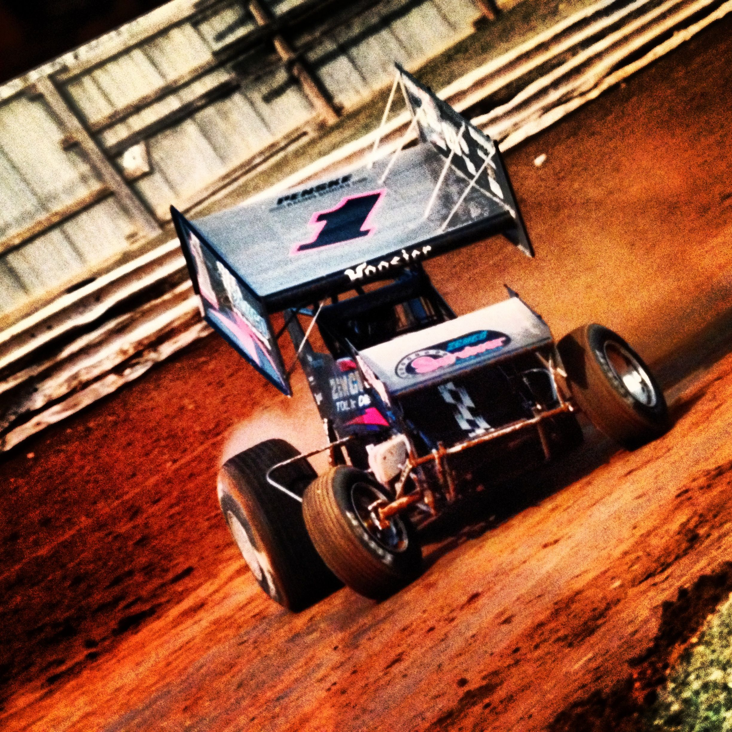 Third Turn, Williams Grove Speedway....on The Hammer