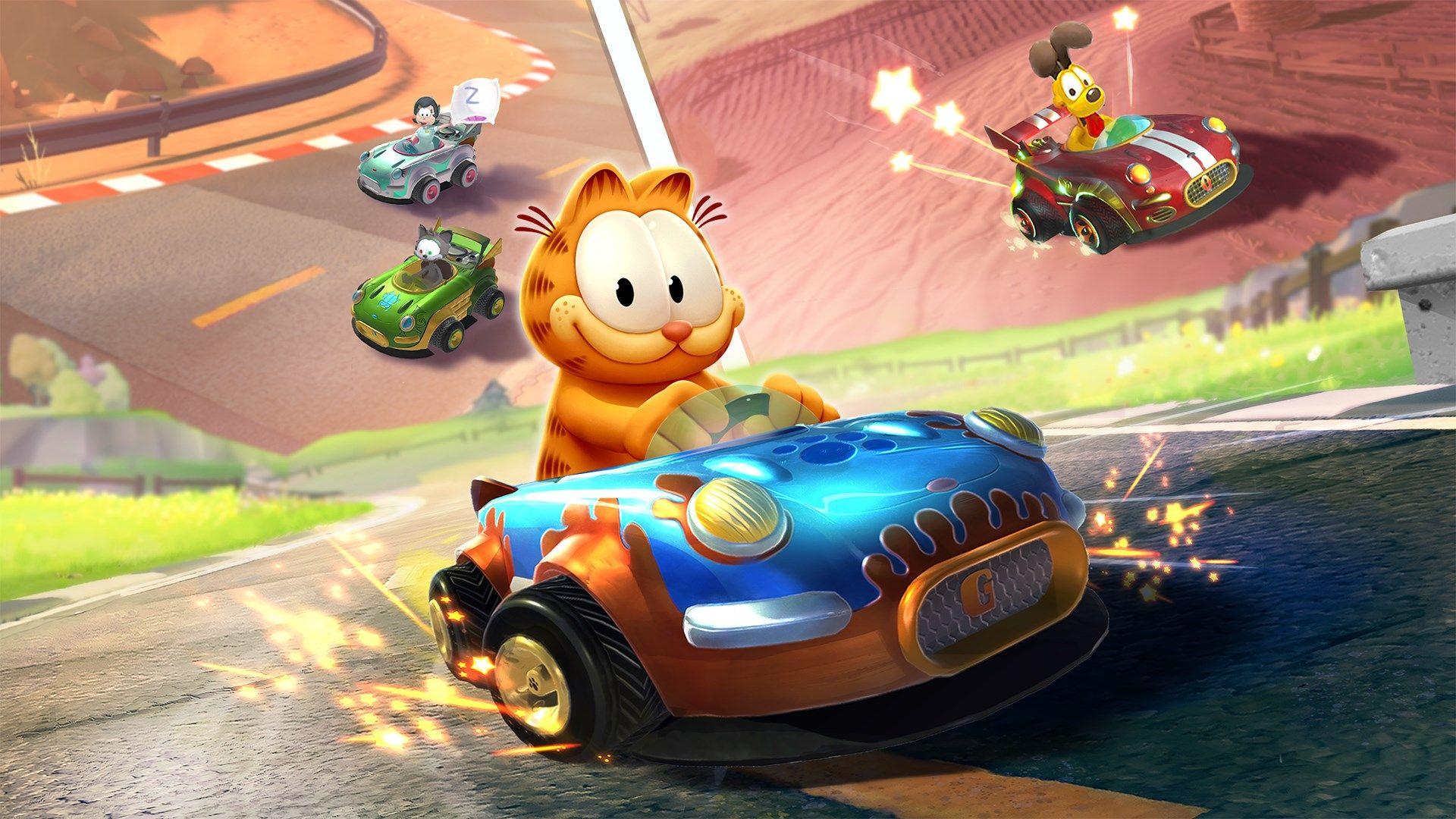 Garfield Kart Furious Racing est désormais disponible