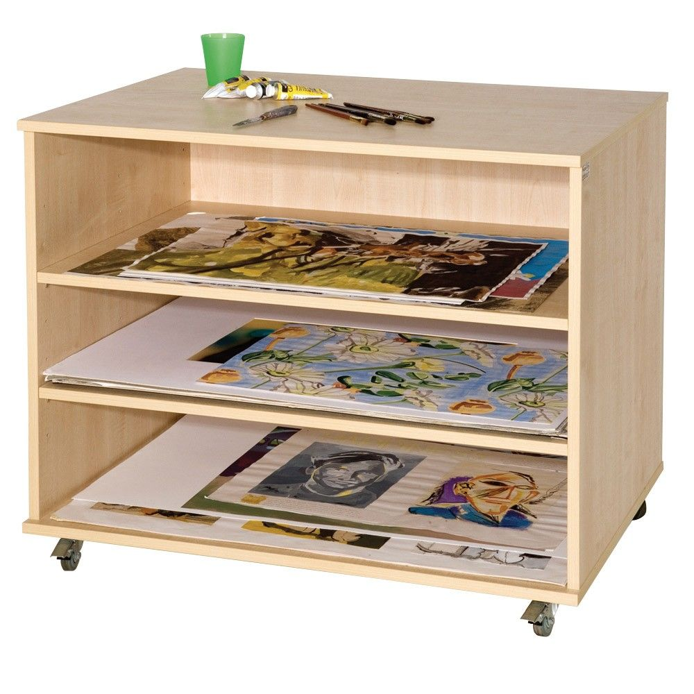 A1 Paper Storage Unit Art And Paper Storage Furniture And Storage The Consortium Education Paper Storage Storage Furniture Classroom Storage