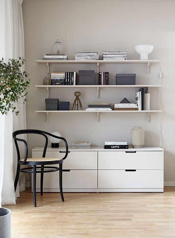 Tips på dold förvaring med Ikeas serie Nordli Serie, Lådor och Inredning