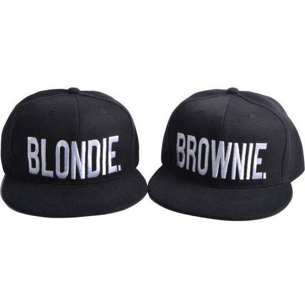Blondie Brownie Custom Embroidery Snapback Dat Hat Cap 24