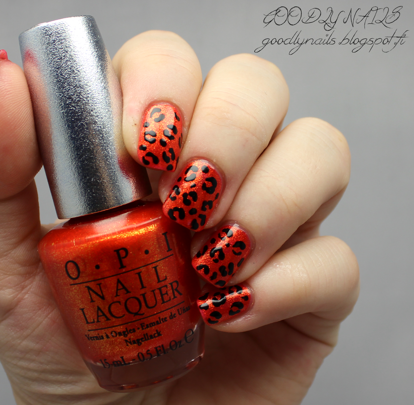 Goodly Nails: OPI Ds Luxurious