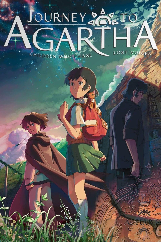 Viaje a Agartha Lost voice, Anime movies, Anime films